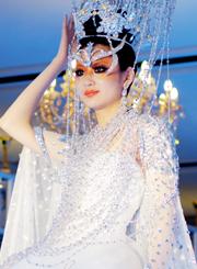 奢妃化妆学校老师参加中国十佳化妆师比赛