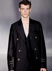 Raidy Boer 意大利男装时尚盛事 奢妃学子全程造型