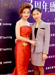 MAKEUP SEFEI.奢妃周年庆典  致力于新生代化妆师培养 引领西南时尚 演绎全新美学