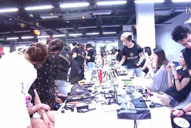 成都化妆学校奢妃助力国际超模大赛