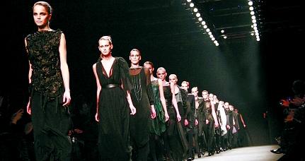 成都米兰时装周奢妃名师班国际班打造