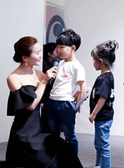 奢妃学院助力非凡少年小演员选拔FASHION SHOW
