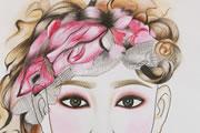 成都奢妃化妆学校化妆班作品 化妆师or画家
