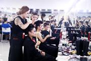 奢妃形象设计艺术学院化妆班第四阶段考试