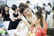 成都化妆培训三阶段新娘造型 奢妃化妆学校