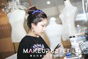 奢妃化妆学员预备成都化妆十佳大赛