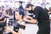 成都化妆学校奢妃0619班化妆班二阶段考试花絮