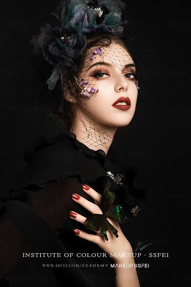 成都化妆学校化妆作品