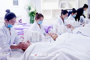 学习美容项目美容店管理成都美容培训