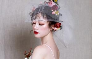 鲜花、羽毛 清新、高贵 奢妃彩妆培训班三阶段作品