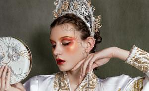 奢妃彩妆师培训班五阶段彩妆学员作品