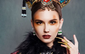 奢妃化妆造型师五阶段学员作品