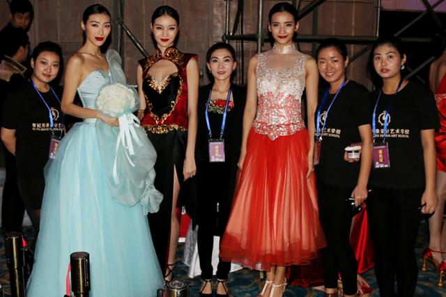 奢妃成都化妆学校 第十五届西博会唯一指定化妆造型机构