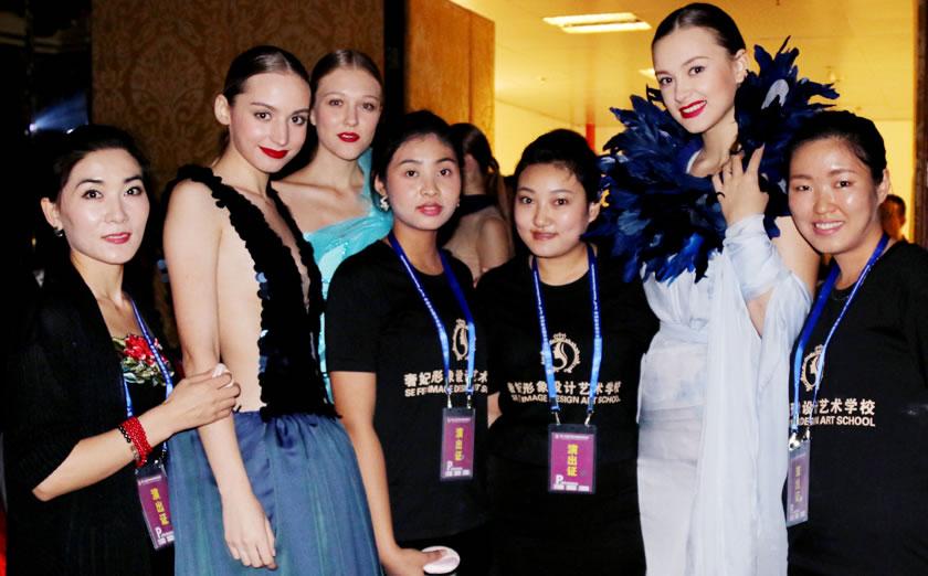 奢妃携手世界顶级ESMOD时装艺术学院 学术交流 备忘合作
