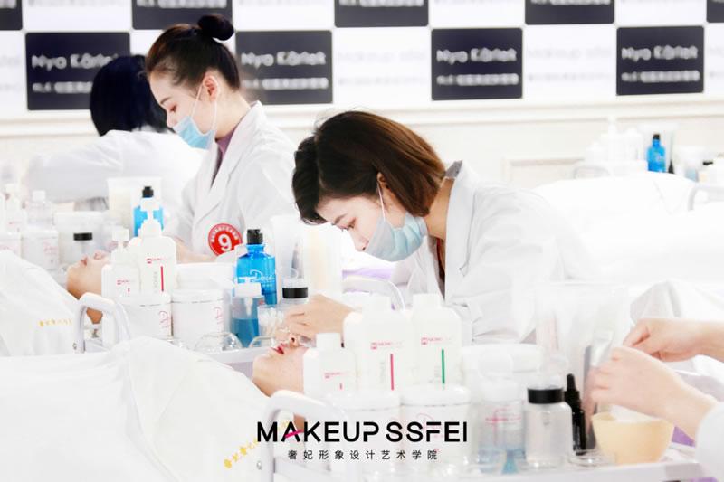 奢妃美容学校-成都美容培训学校美容学员考试