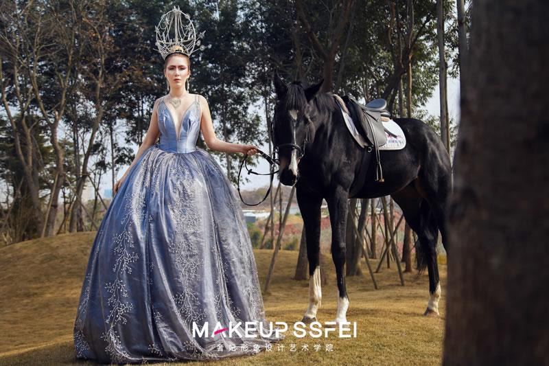 高端新娘化妆造型设计培训班学员作品